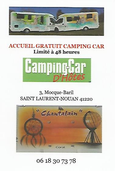 Aire camping-car à Saint-Laurent-Nouan (41220) - Photo 1